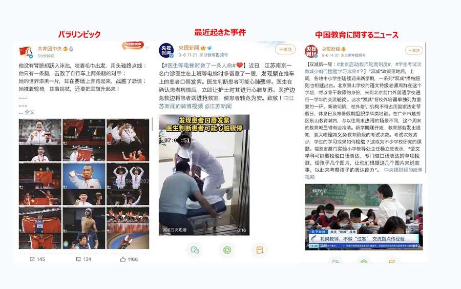 【事例3】中国政府の発信情報